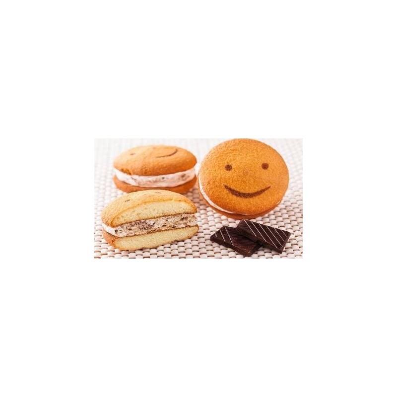 Biscuiti Smile Sandwich Crema Cacao 17Kg/Cutie