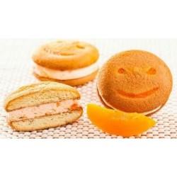 Biscuiti Smile Sandwich Crema Piersica 17Kg/Cutie